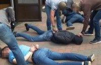 СБУ задержала под Киевом вымогатателей $20 тысяч у бизнесмена