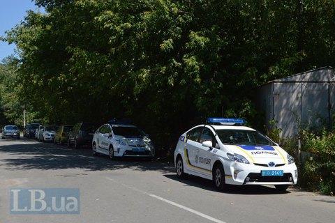 В Киеве вооруженные люди похитили человека