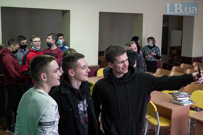 Зустріч у Новомихайлівці.