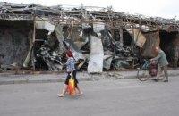 В мэрии Донецка сообщают о гибели двух мирных жителей в результате артобстрела