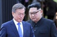 Лидеры Южной и Северной Кореи встретились второй раз за месяц
