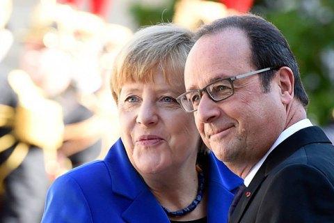 Меркель і Олланд закликали Європу до єдності