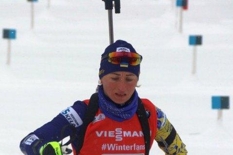 Семеренко потрапила до квіткової церемонії за підсумками спринту на етапі Кубка світу в Обергофі