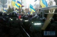 Силовики заняли телецентр в Киеве