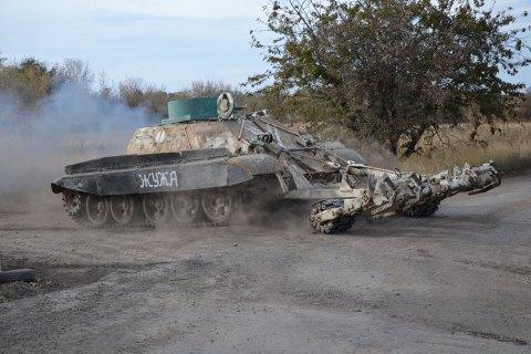 Силы АТО отвели военную технику на Мариупольском направлении