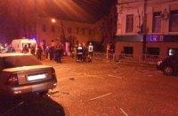 В Харькове произошел взрыв в пабе