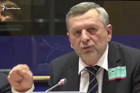 Умеров и Чийгоз в Европарламенте рассказали о нарушении прав человека в Крыму