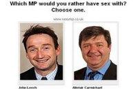 Британцам предложили выбрать самых сексуальных парламентариев