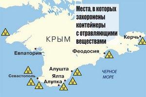 Химоружие на дне Черного моря грозит Крыму экологической катастрофой