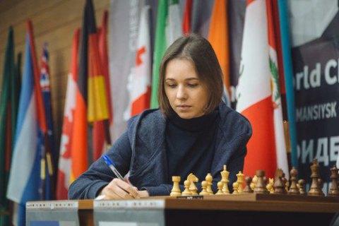 Музичук зіграла внічию з росіянкою першу партію півфіналу ЧС з шахів