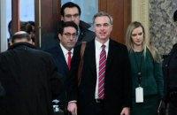 Захист Трампа почав надавати в Сенаті доводи проти імпічменту