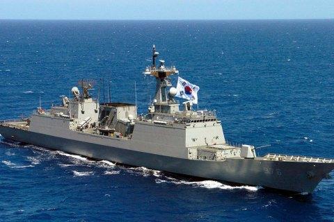 На корейському есмінці стався спалах COVID-19, захворіли 247 із трьохсот моряків