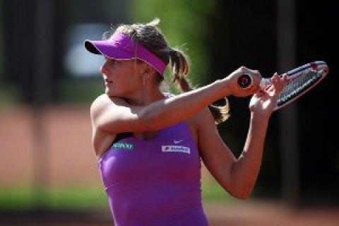Козлова вперше виграла матч в основній сітці Великого Шолома
