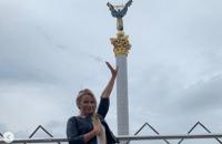 Российская телеведущая, которая незаконно посещала Крым, приехала в Киев