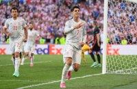 Іспанія вийшла у чвертьфінал Євро-2020 після 5:3 з Хорватією