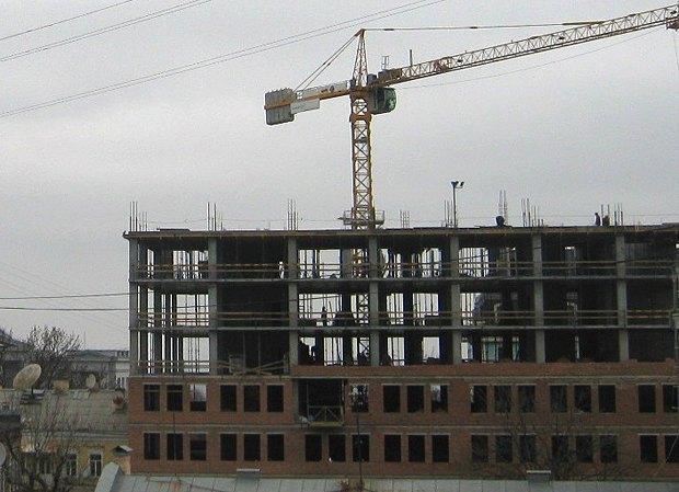 Будівництво у Десятинному станом на 17.11.2014