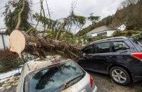 В Германии и Нидерландах бушует ураган, около десяти погибших