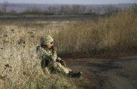 За добу на Донбасі один військовий отримав кульове поранення