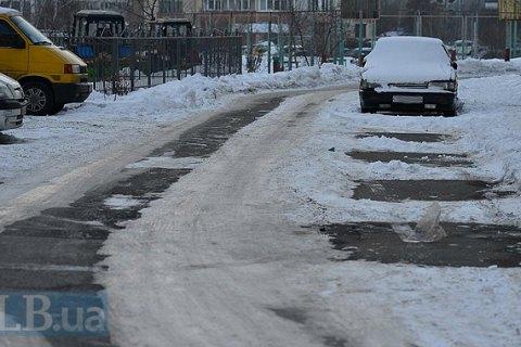 Водителей предупреждают об ухудшении погодных условий в Киеве