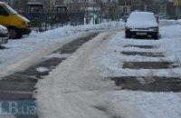 Водіїв попереджають про погіршення погодних умов у Києві
