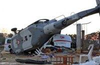 В Мексике вертолет с чиновниками во время облета зон, пострадавших от землетрясения, упал на людей. Погибли 13 человек