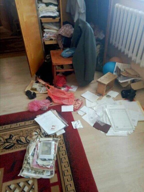 Строгановка. Обыск у Сулейманова Эскендера.