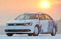 Седан Volkswagen Jetta установил рекорд скорости для гибридов