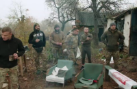 """МВД отчиталось о вывозе оружия, которое было у представителей """"Нацкорпуса"""" в Золотом-4"""