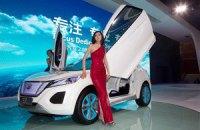 Ведущие автопроизводители показывают свою продукцию на выставке в Пекине