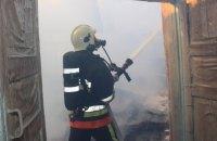 У Тернопільській області на території військової частини загорівся склад
