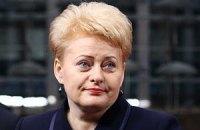 В странах Балтии появятся командные пункты НАТО, - Грибаускайте