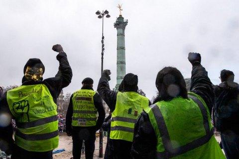 """Около 1800 сторонников """"желтых жилетов"""" во Франции получили судебные приговоры"""