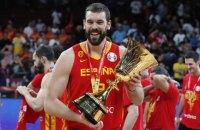 Газоль стал вторым игроком в истории, кто в один год выиграл плей-офф НБА и чемпионат мира