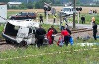 В Польше поезд врезался в микроавтобус с украинцами, 8 человек погибли