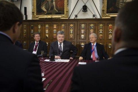 Порошенко анонсировал приход в Украину портового оператора Hutchison Ports