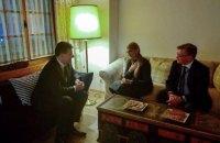 Тимошенко обговорила з головою ОБСЄ ситуацію на Донбасі