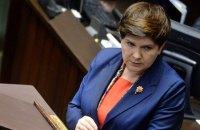 Прем'єр-міністр Польщі подала у відставку