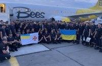 До України повернулися рятувальники, які гасили пожежі у Греції