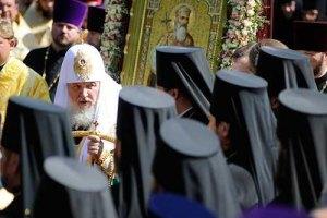 В Харькове верующих сгоняют на литургию Кирилла