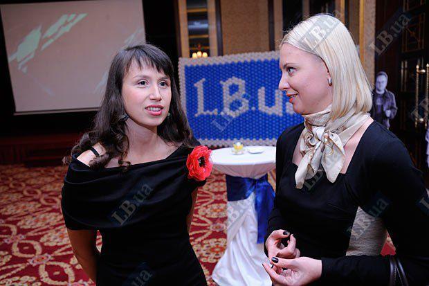 Татьяна Чорновил и Татьяна Золотарева, пресс-служба БЮТ (справа)