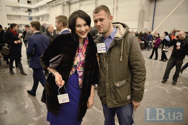 Соня Кошкина и журналист Денис Казанский