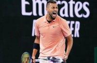 На Australian Open тенісист кинув фанату на трибунах шкірку від банана