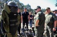 Турчинов: Нацгвардия будет жестко пресекать попытки сорвать выборы президента и Рады