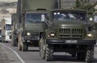 В Украину продолжают въезжать колонны российской техники, - МИД
