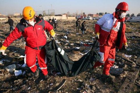 Авіакатастрофа в Ірані: Офіс генпрокурора просить Іран передати Україні чорні скриньки