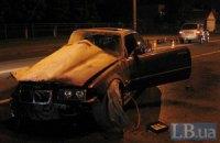 В Киеве из-за пьяного водителя столкнулись четыре автомобиля