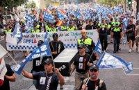 Испания: полиция выступает против мер жесткой экономии