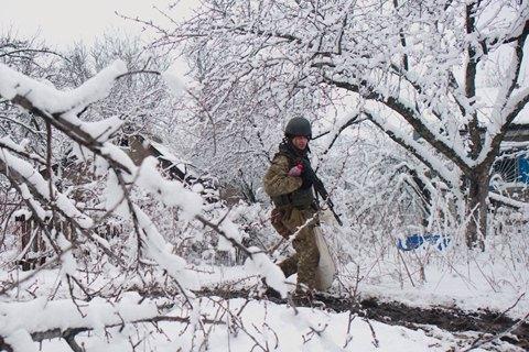 За 12 февраля боевики трижды открывали огонь на Донбассе