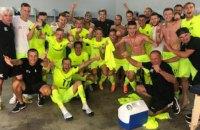 В чемпионате Украины по футболу появился очередной подозрительный матч