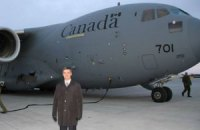 Из Канады в Украину вылетел самолет с военной помощью